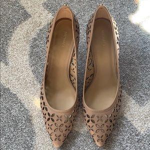 Michael Kors later cut heels sz 8